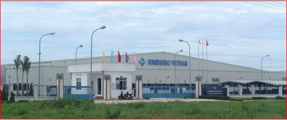 Nhà máy Sumidenso - KCN. Đại An, Hải Dương