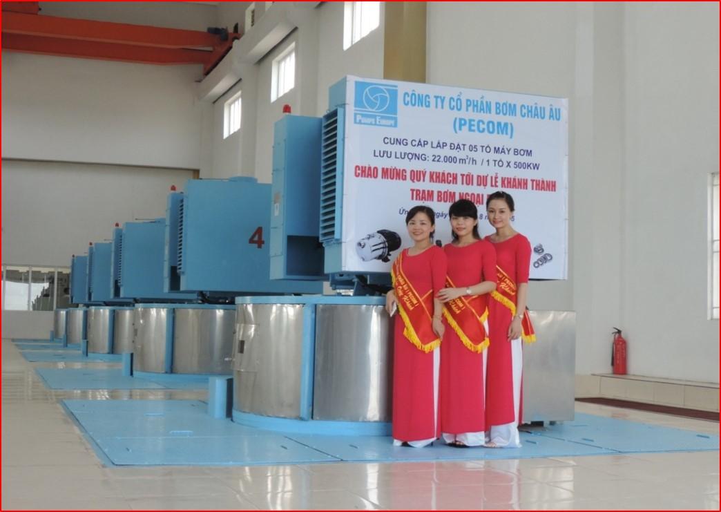 Trạm bơm Ngoại Độ II - Ứng Hòa, Hà Nội